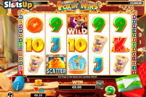 foxin wins nextgen gaming casino slots 480x320