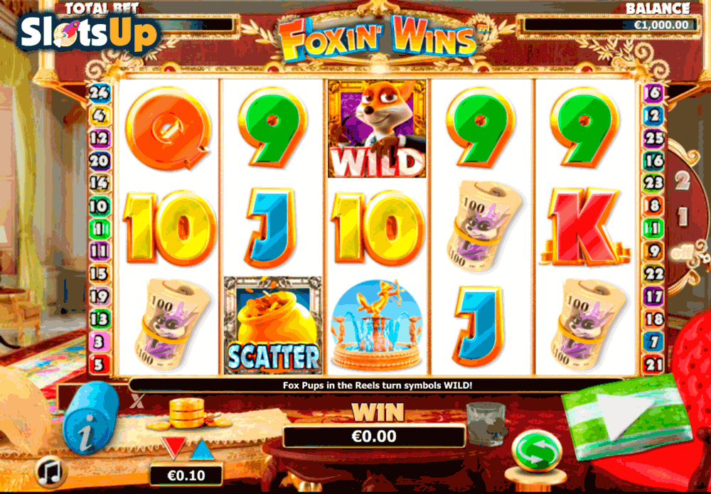 Foxin Wins™ Slot Machine Game to Play Free in NextGen Gamings Online Casinos