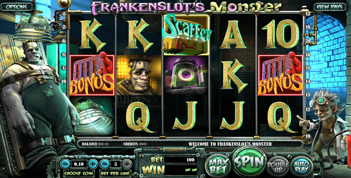 frankenslots monster betsoft casino slots