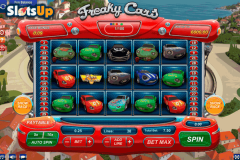 freaky cars gamesos casino slots