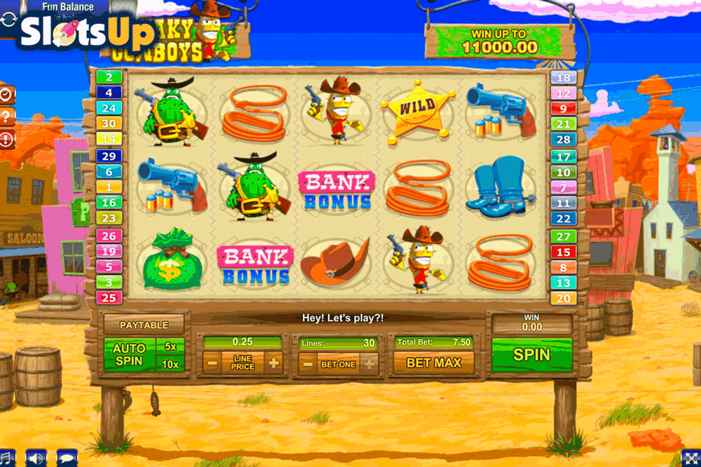 freaky cowboys gamesos casino slots