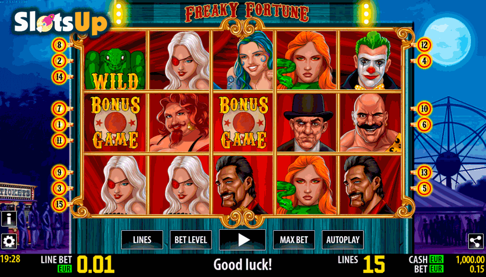 FREAKY FORTUNE HD WORLD MATCH CASINO SLOTS