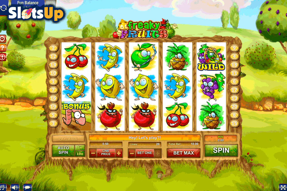 FREAKY FRUITS GAMESOS CASINO SLOTS