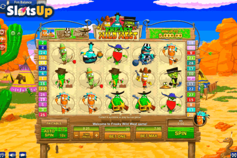 freaky wild west gamesos casino slots