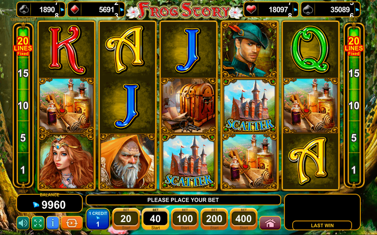 Play Frog Story Slot Game Online | OVO Casino
