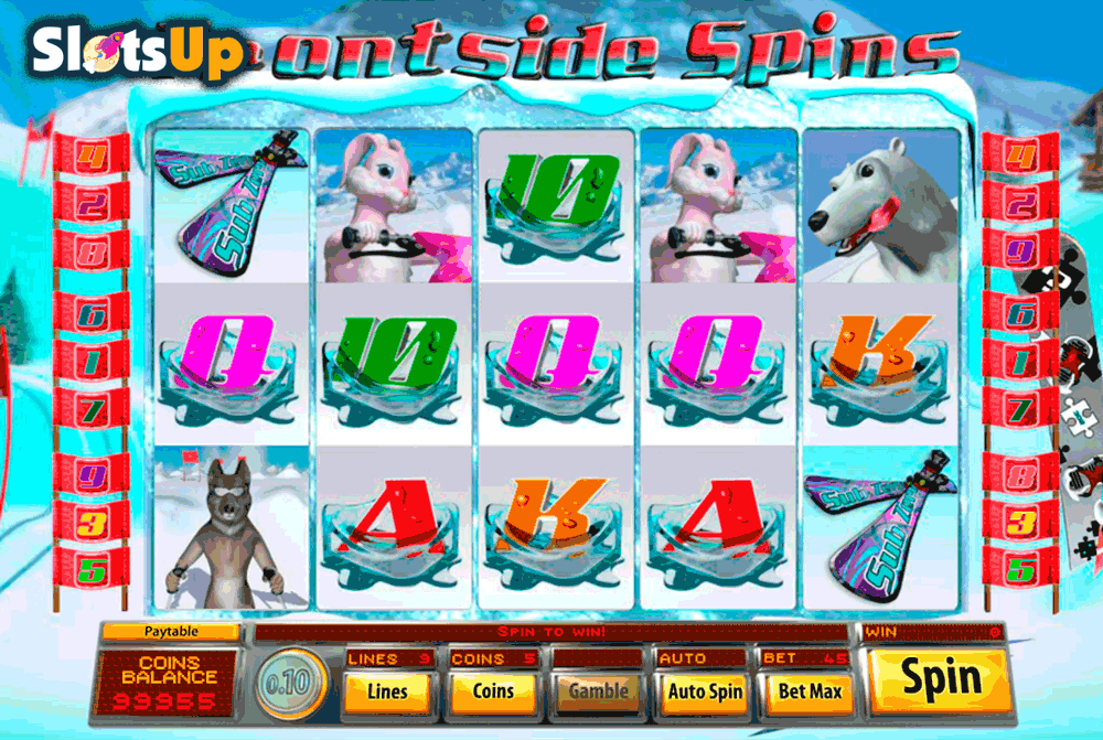 Frontside Spins™ Slot Machine Game to Play Free in Saucifys Online Casinos