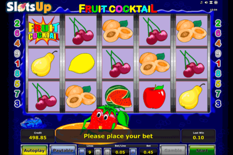 FRUIT COCKTAIL NOVOMATIC CASINO SLOTS