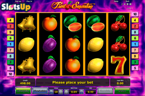 fruit sensation novomatic casino slots