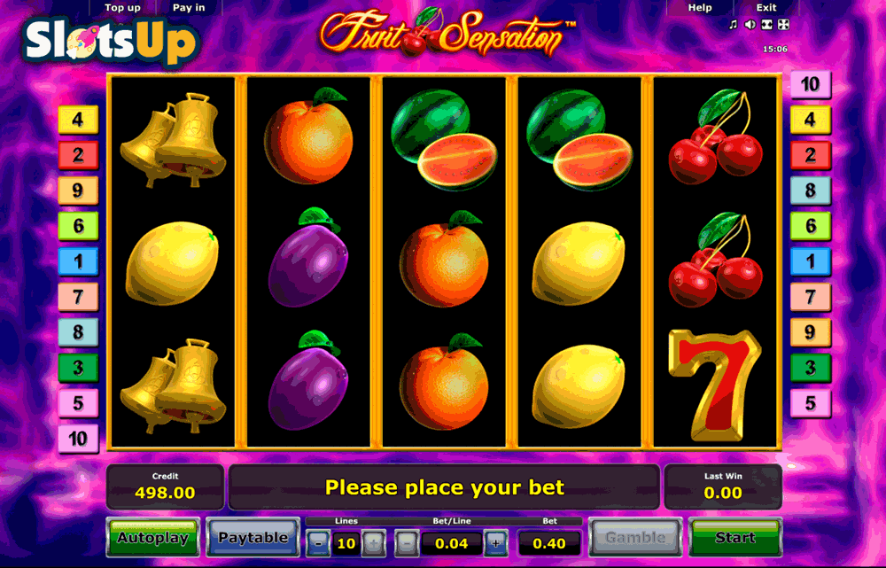 Fruit Sensation™ Slot Machine Game to Play Free in Novomatics Online Casinos