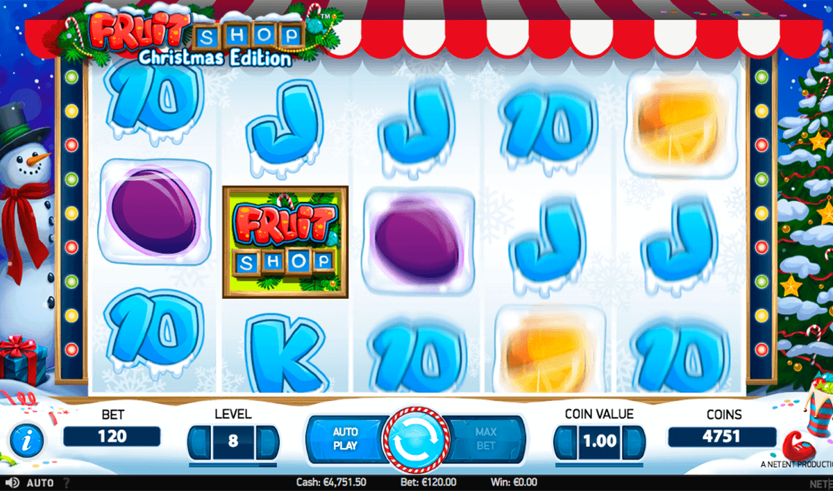 Christmas Slots Fruit Shop for Real Money - Rizk Casino