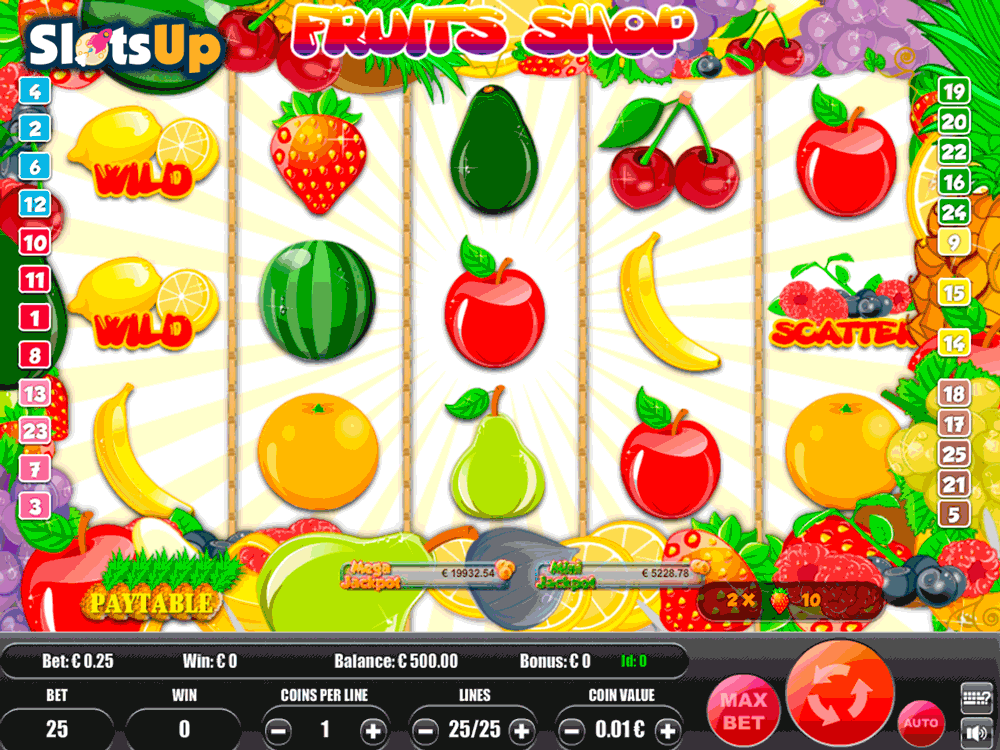 Fruit Machines - Play Fruities Online for Free or Real Money