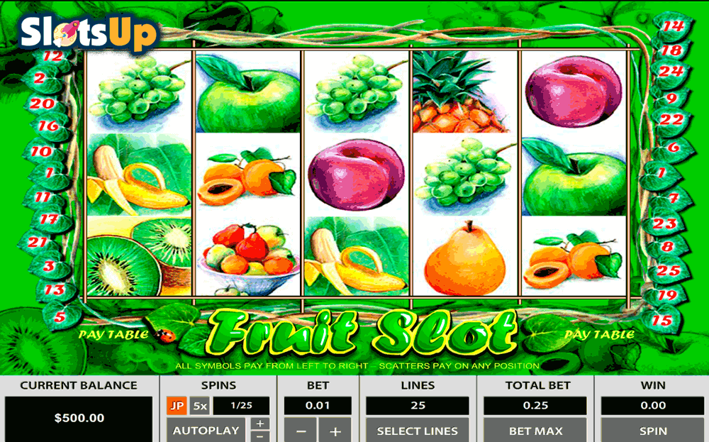 play slots online spiele fruits