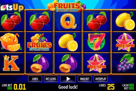 fruits evolution hd world match casino slots