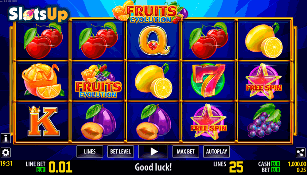 Evolution - Free Video Slot Game Online