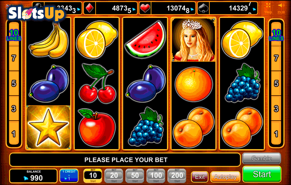 Fruit Drops Slot Machine - Play this Game for Free Online