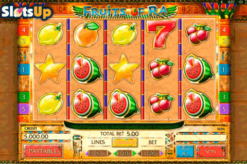 FRUITS OF RA PLAYSON CASINO SLOTS