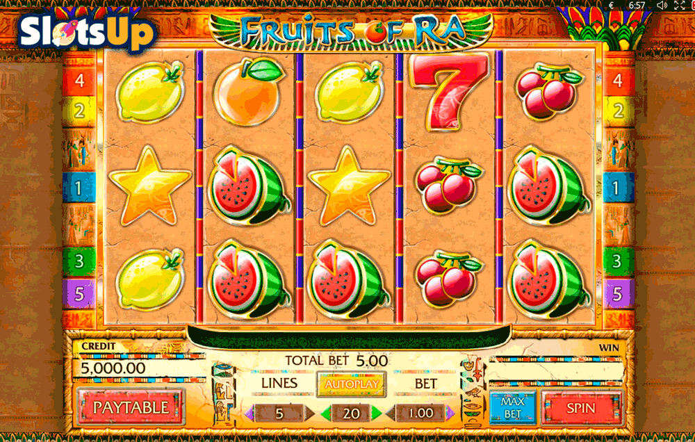 Fruits of Ra Slot - Play this Game by Playson Online