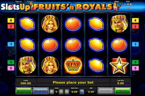 FRUITSN ROYALS NOVOMATIC CASINO SLOTS