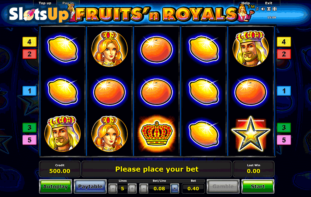 Fruitsn Royals Slot Machine Online ᐈ Novomatic™ Casino Slots