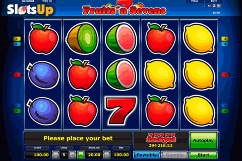 Fruitsn Sevens Slot Machine Online ᐈ Novomatic™ Casino Slots