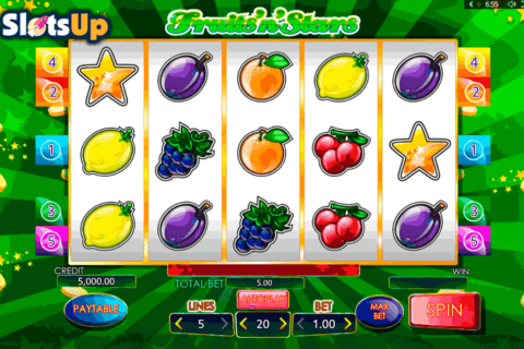 fruitsnstars playson casino slots