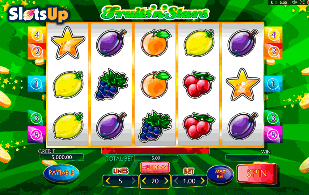 Spiele Fruits And Stars - Video Slots Online
