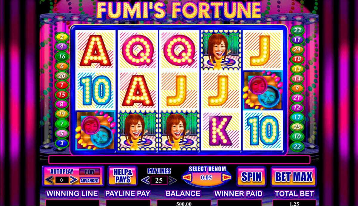 Fumis Fortune Slot - Play the Free Amaya Casino Game Online