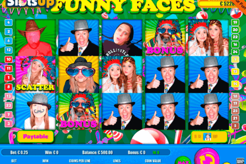 funny faces portomaso casino slots