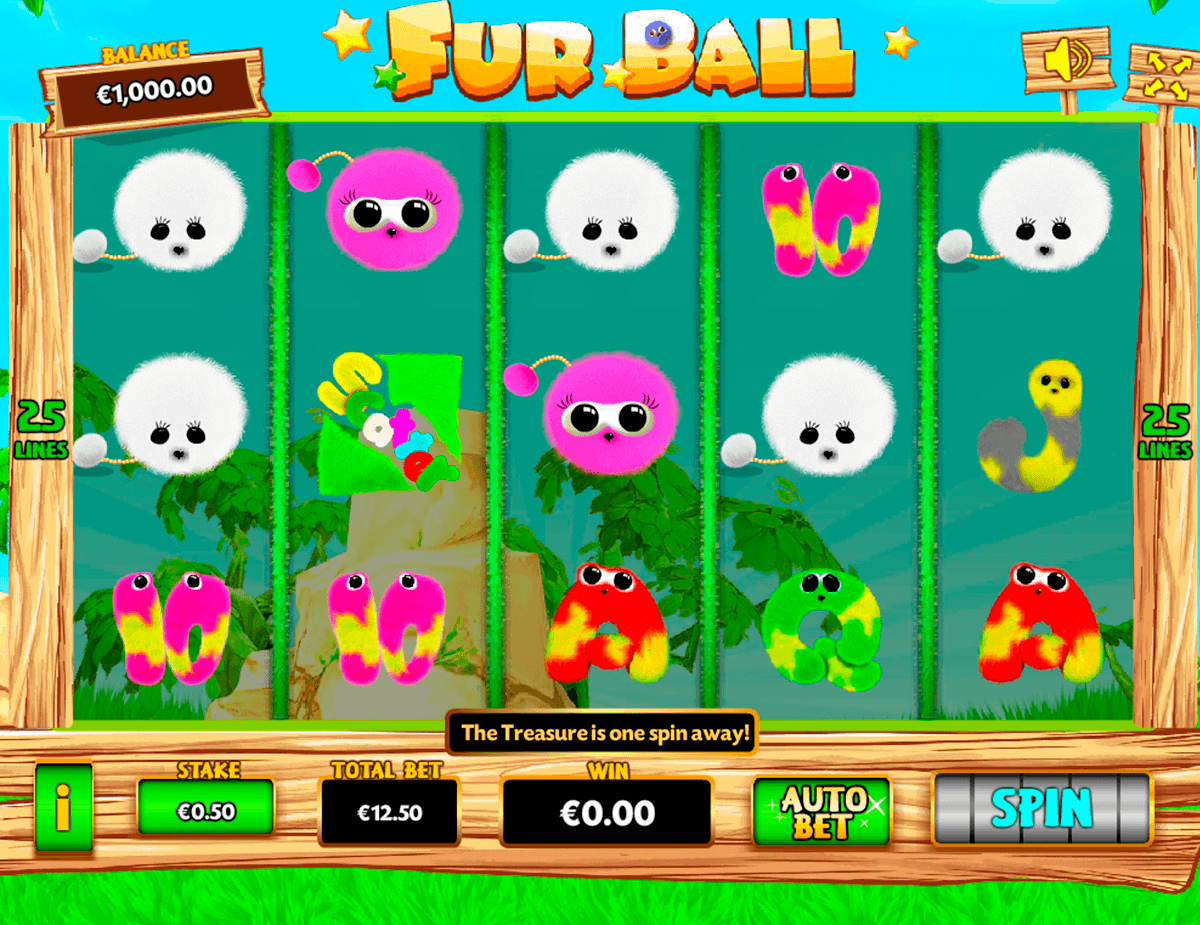 FUR BALL PARIPLAY SLOT MACHINE