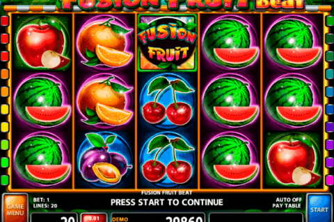 fusion fruit beat casino technology slot machine