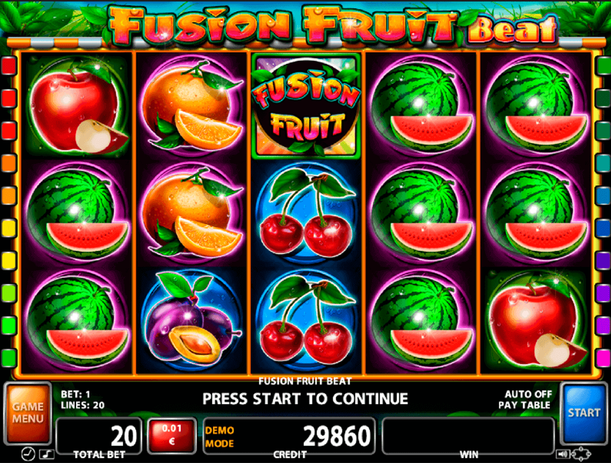 online slot games fruit casino