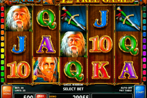 gaelic warrior casino technology