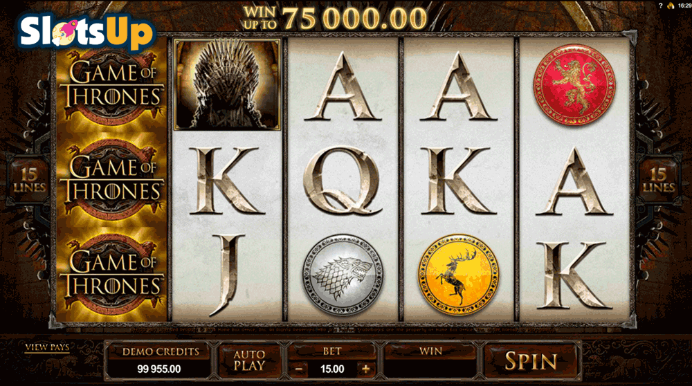 game of thrones 15 lines microgaming casino slots