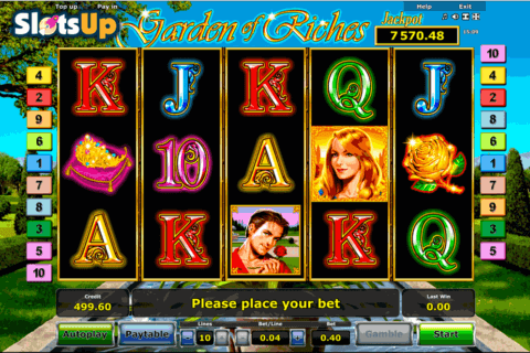 garden of riches novomatic casino slots