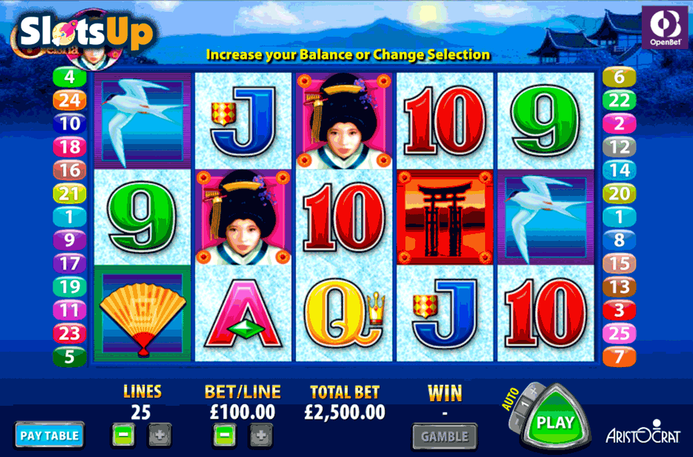 Geisha™ Slot Machine Game to Play Free in Aristocrats Online Casinos