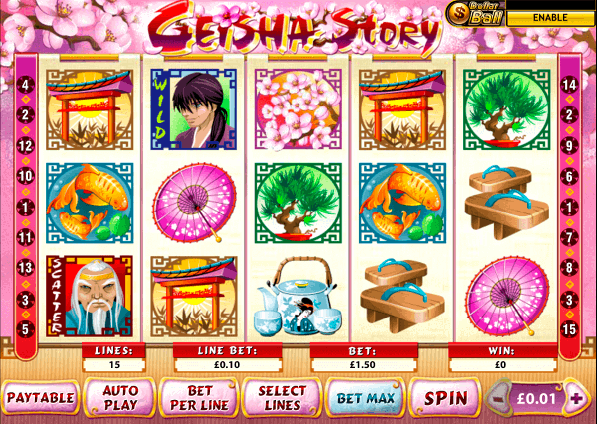 Play Geisha Story Slots Online at Casino.com NZ