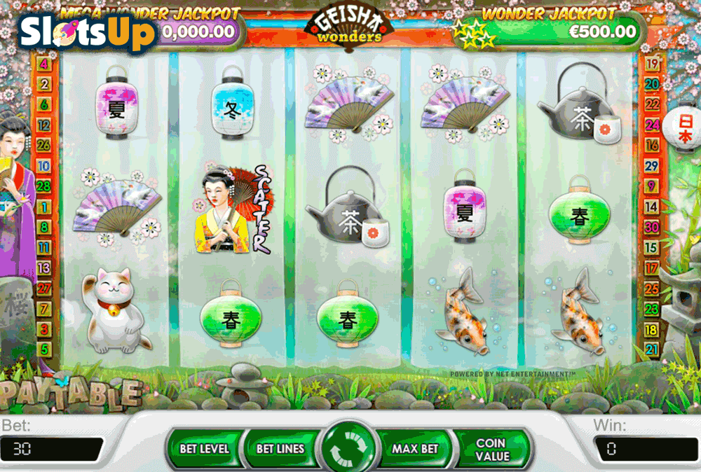 Geisha Slot Machine - Play the Free & Real Money Geisha Slot