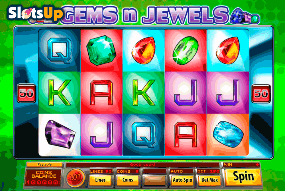 Crystal Gems Slot Machine - Play the Online Version for Free