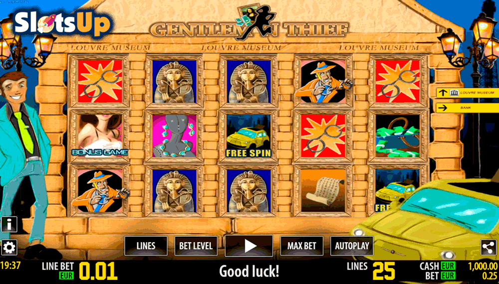 Gentleman Thief Slot - Review & Play this Online Casino Game