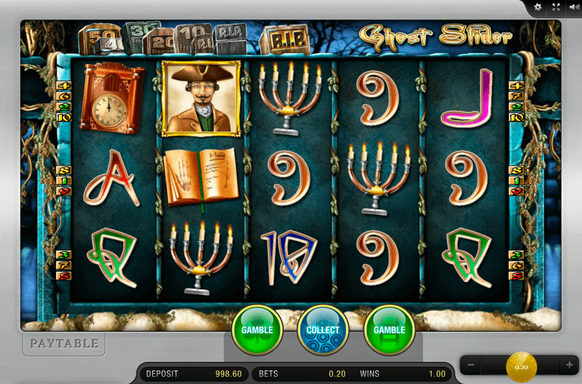 Ghost Slider™ Slot Machine Game to Play Free in Merkurs Online Casinos