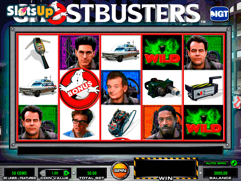ghostbusters igt casino slots
