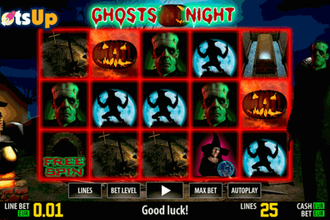 GHOSTS NIGHT HD WORLD MATCH CASINO SLOTS