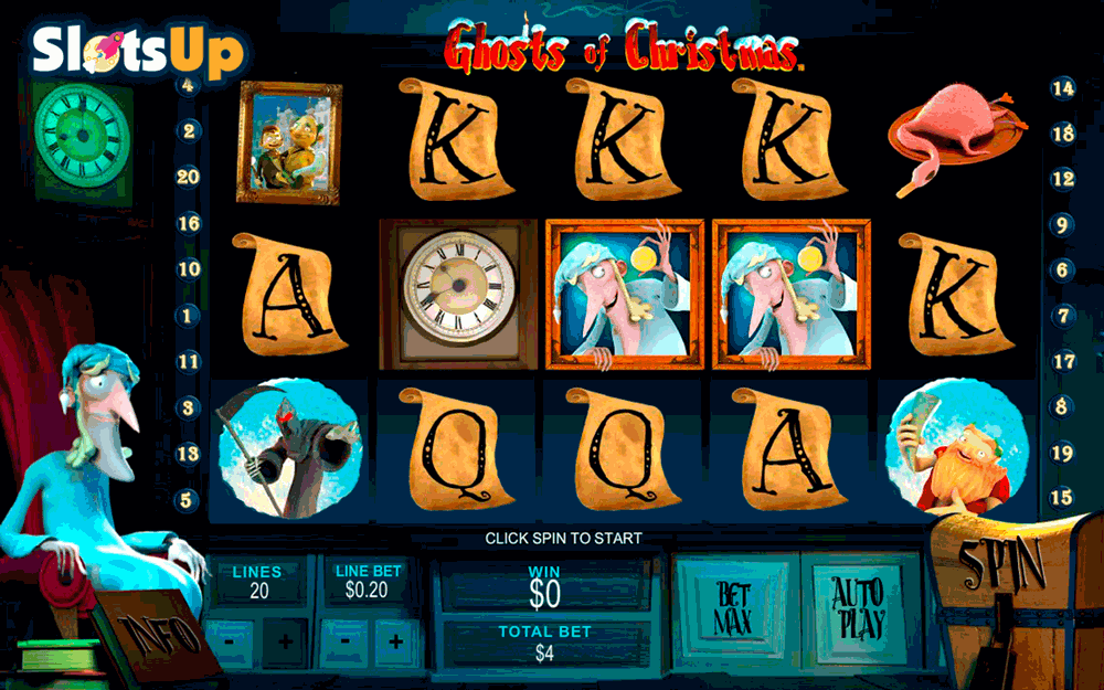 ghosts of christmas playtech casino slots