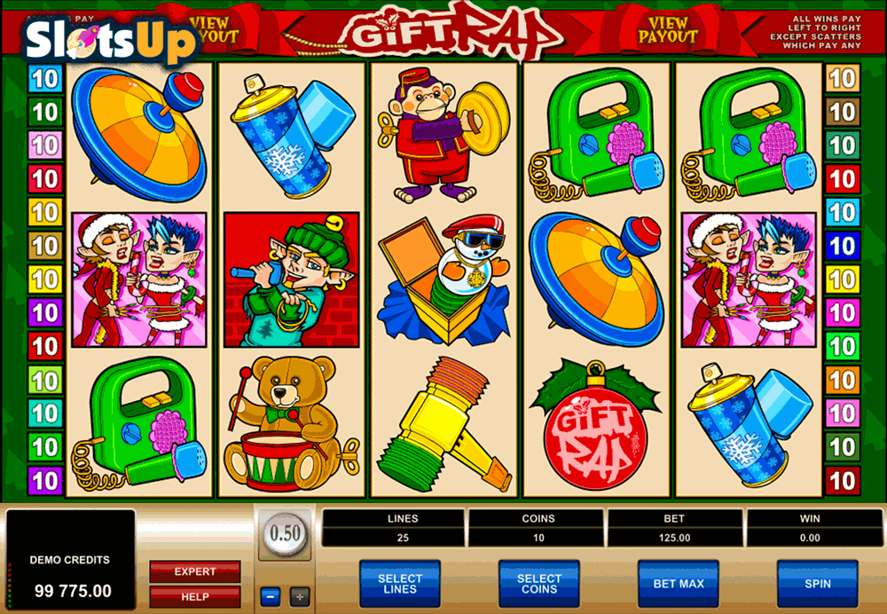 GIFT RAP MICROGAMING CASINO SLOTS