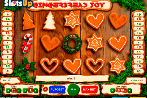 gingerbread joy 1x2gaming casino slots