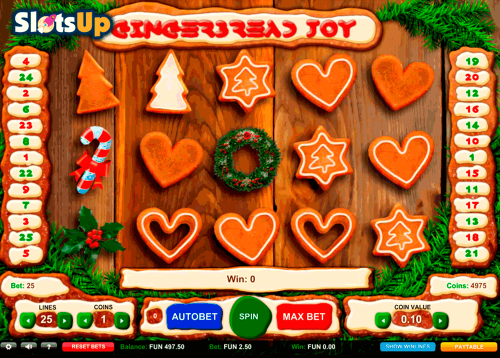 Gingerbread Joy Slot Machine Online ᐈ 1X2gaming™ Casino Slots