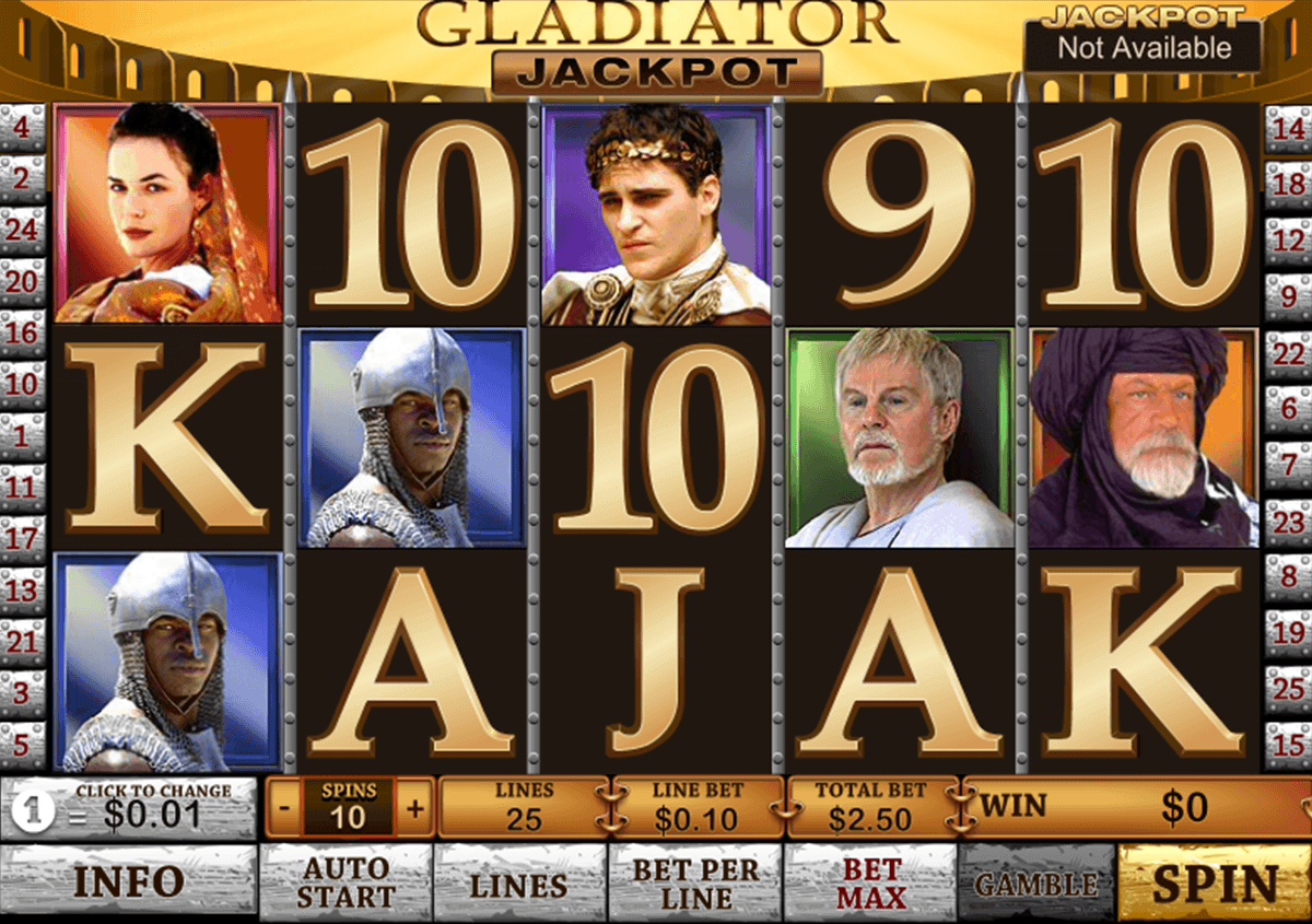 slot games gladiator