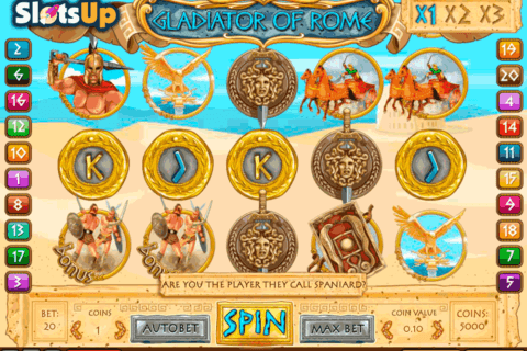gladiator of rome 1x2gaming casino slots 480x320
