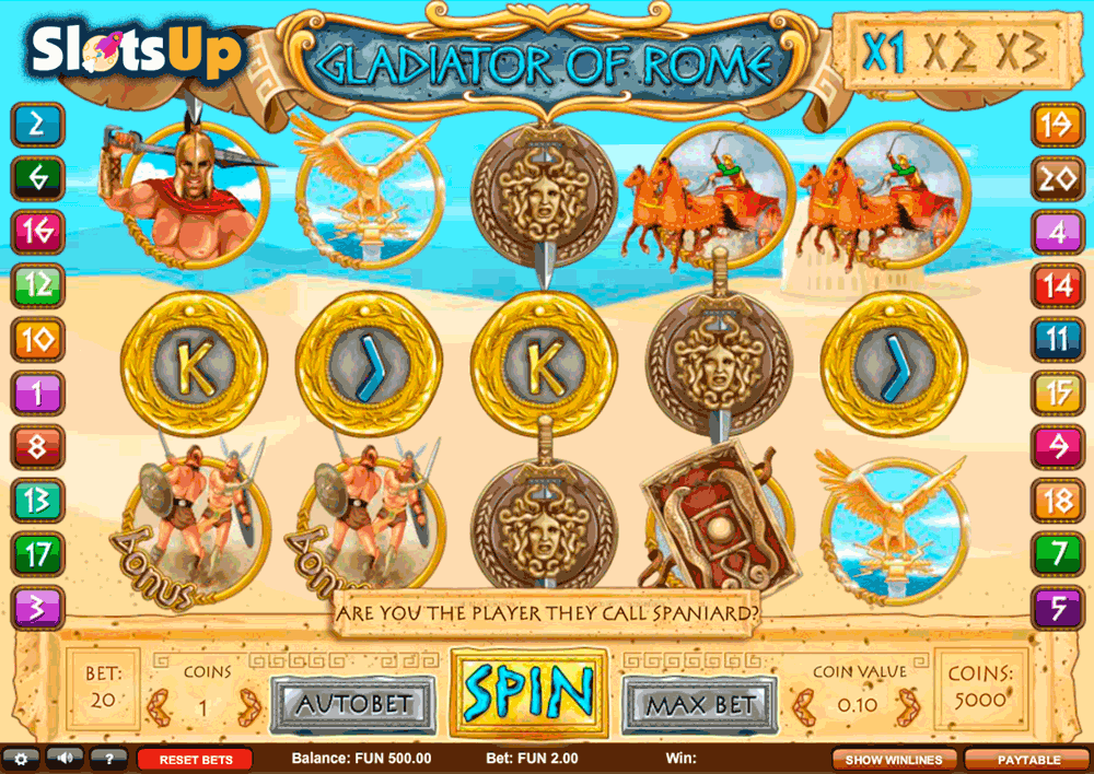 gladiator of rome 1x2gaming casino slots