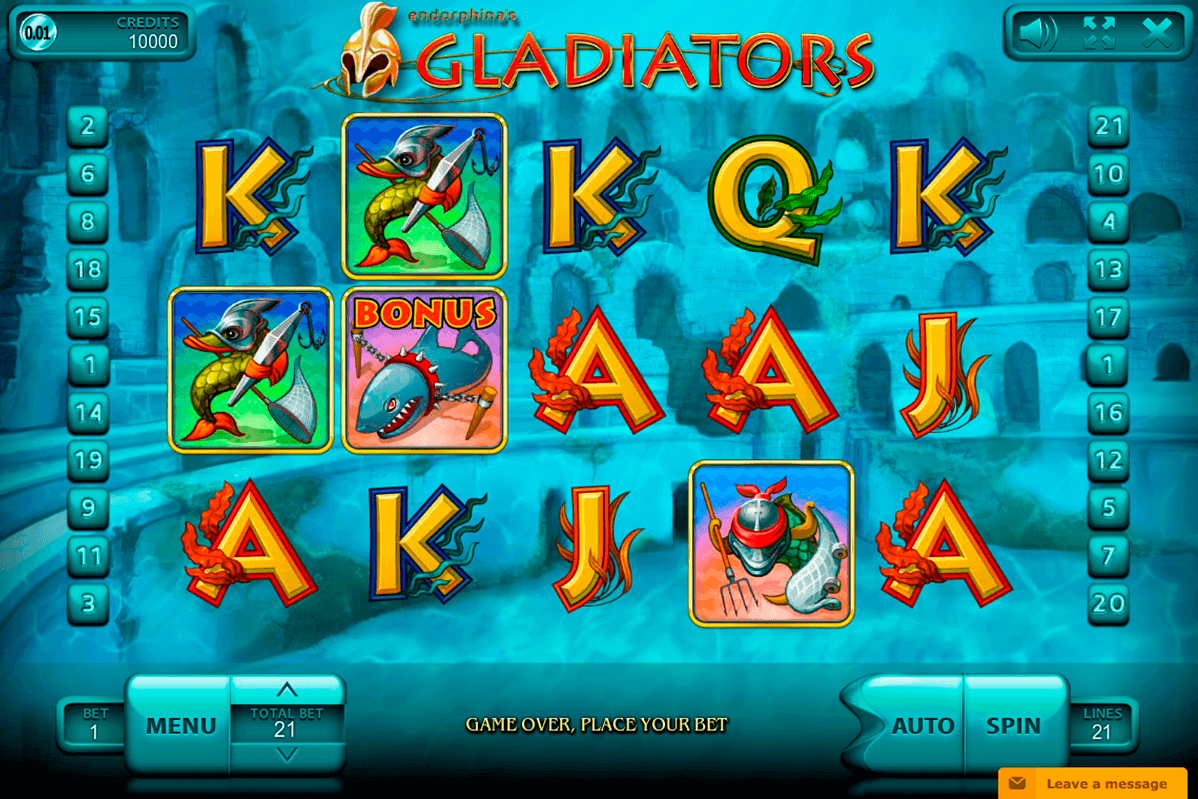Gladiators Slot Machine Online ᐈ Endorphina™ Casino Slots